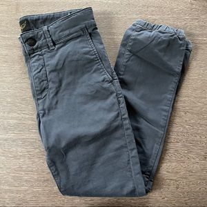 Finger In The Nose Gray Boys Pant Size 10/11y